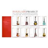 "FoxyLady Project. The Lifesize Guitar 18"" x 高 41"" 對照實物大小的名結他相簿"
