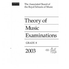 2003 Theory of Music Examinations G.8