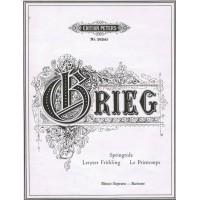 Grieg:- Springtide/Le printemps/Letzter Frühling Op.34 No.2 High Voice
