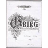Grieg:- A Swan / Ein Schwan (Eng/Ger) Voice