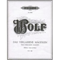 Wolf:- The Forsaken Maiden (Morike - Julia Von Bose) High Voice