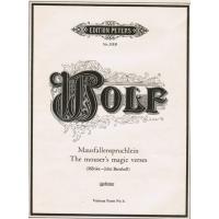 Wolf:- The Mouser's Magic Verses (Morike - John Bernhoff) Voice
