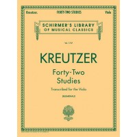 Kreutzer:- 42 Studies for Viola