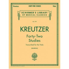 Kreutzer:- 42 Studies for Viola