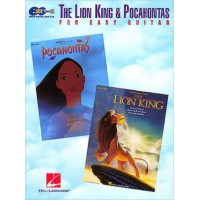 The Lion King & Pocahontas Easy for Guitar
