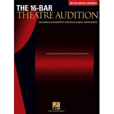 The 16 - Baritone Theatre Audition Belter (Mezzo - Soprano)