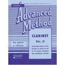 Rubank: Advanced Method Clarinet Vol.2