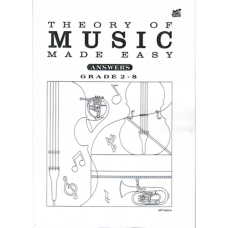 Answers: Theory of Music Made Easy G.2-8