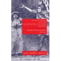 Italian Opera In Late Eighteenth Century London