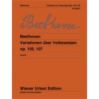 Beethoven:- Variations on Folk Songs Op.105, 107 for Flute & Piano