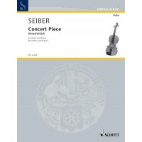 Seiber:- Concert Piece for Violin and Piano