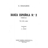 Granados:- Danza Espanola No.2 (Oriental) for Viola & Piano
