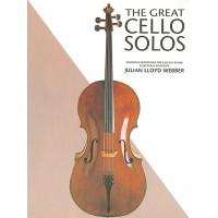 Webber:- The Great Cello Solos