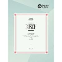 Adolf Busch:- Serenade in A major Op. 53B (Violin and Viola)