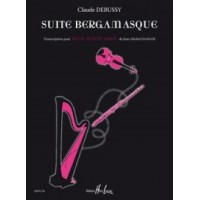 Debussy / Damase:- Suite Bergamasque for Flute, Viola and Harp
