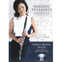 Seunghee Lee:- Hidden Treasures for Clarinet & Piano with CD